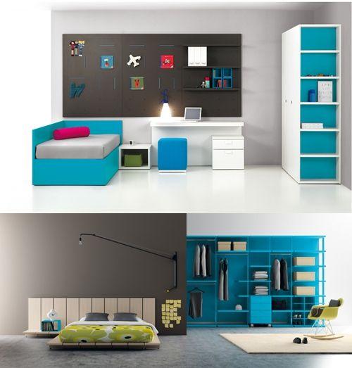 Muebles infantiles y juveniles a tope de color | Muebles infantiles ...