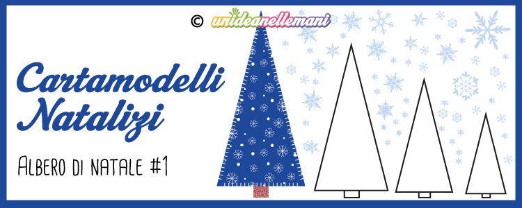 Cartamodelli Natalizi Da Stampare Albero Di Natale Triangolo 1