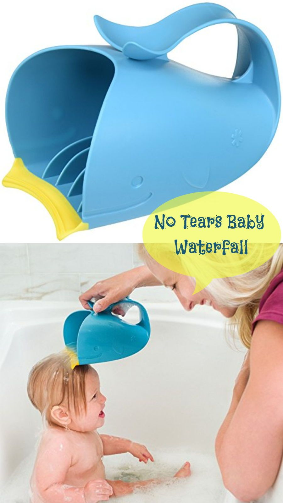 Innovative patent pending bath rinser #bathbaby #baby #babyessntial ...