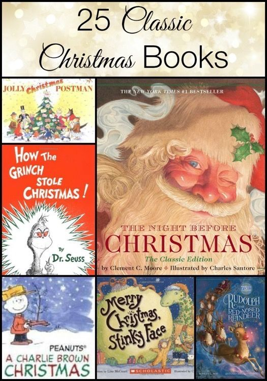 25 classic christmas books for children books - Classic Christmas Books