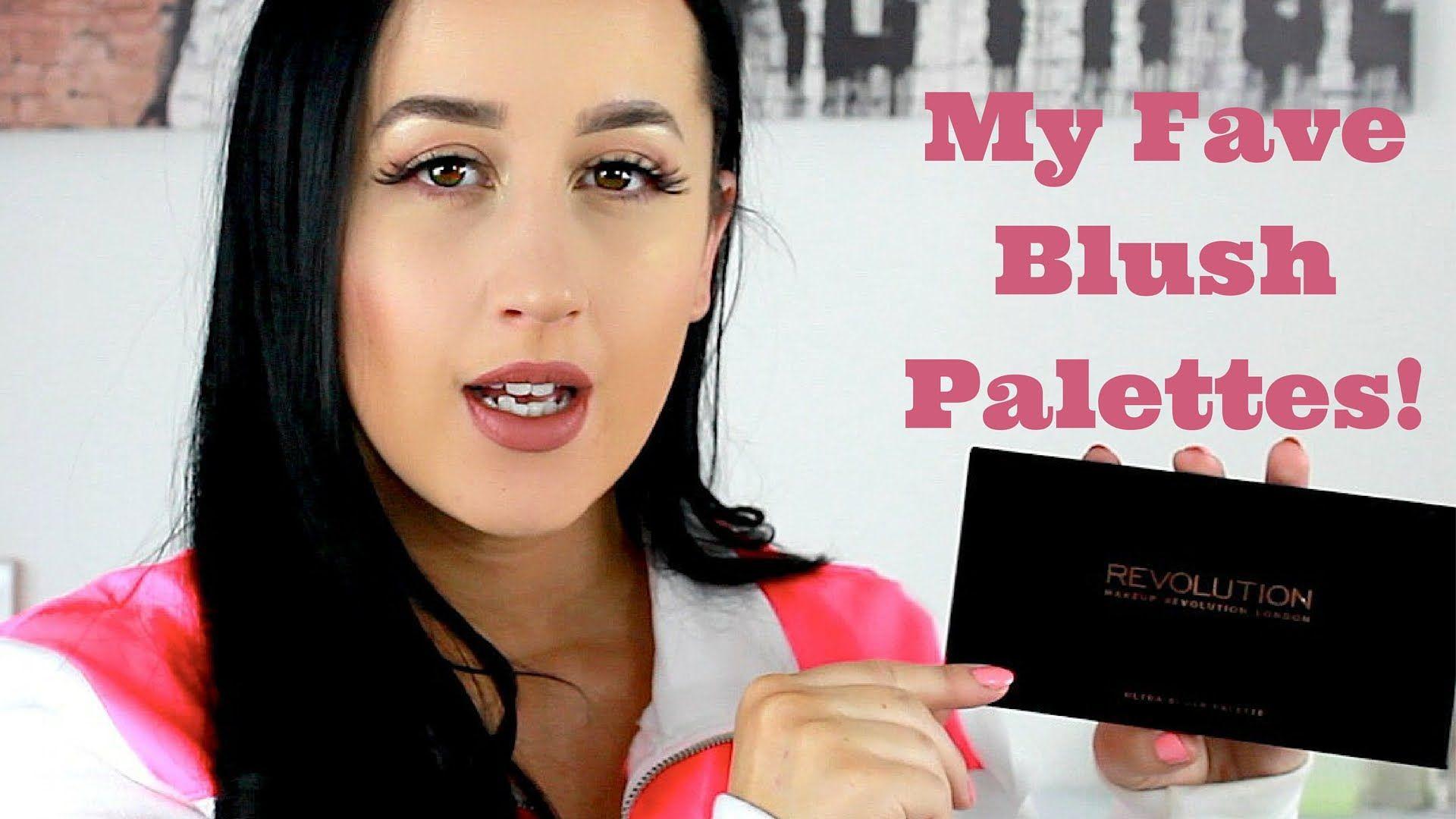 My Favorite Blush Palettes Urban Decay, Makeup