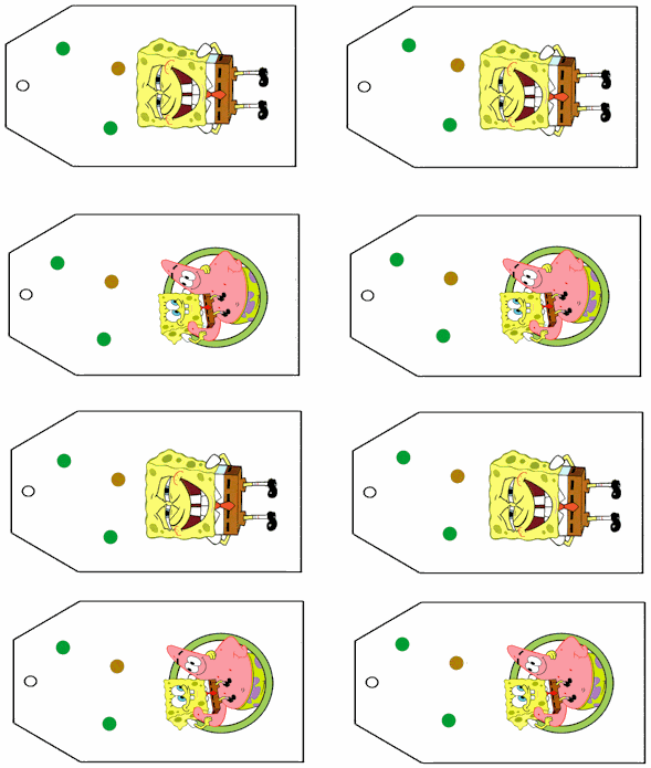 free printable spongebob party invitations  let's party, party invitations