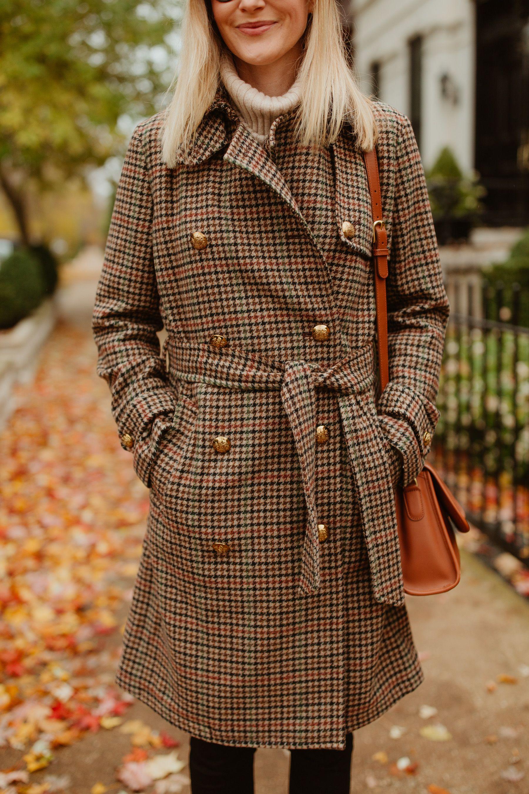1a43eb011 Herringbone Wool Trench Coat on Sale | my style | Wool trench coat ...