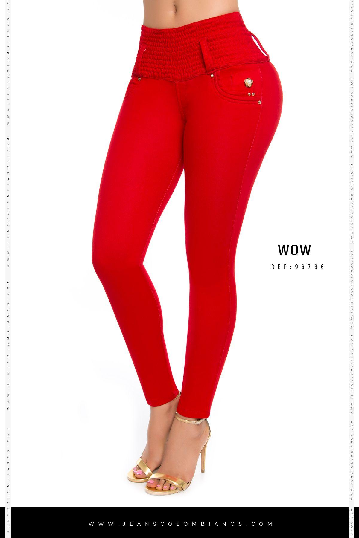 Wow 86786 Jeans De Moda Pantalones De Moda Mujer Ropa De Moda 2018