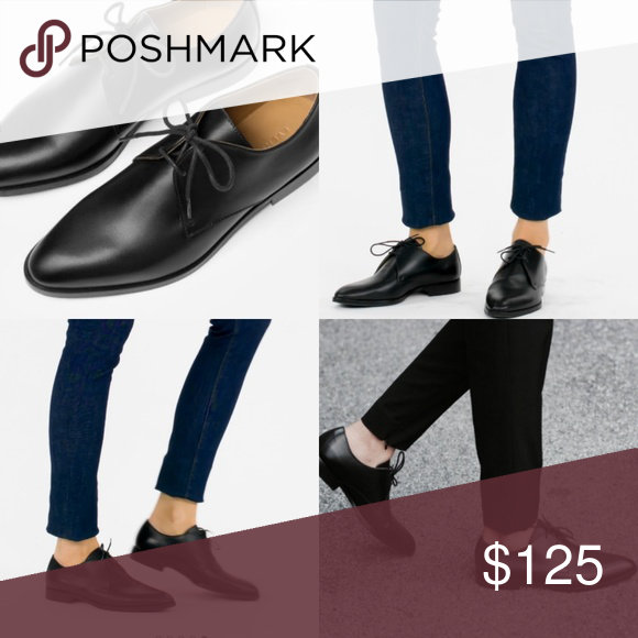 6be7a13e2118 Everlane Modern Oxford Black New without box. Made in Italy with a gently  tapered toe and the perfect heel height, this shoe is brilliantly  comfortable and ...