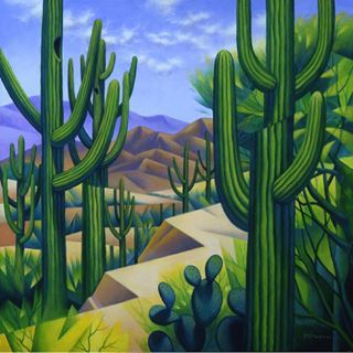 """Sonoran Overlook,"" by Frank Ybarra"