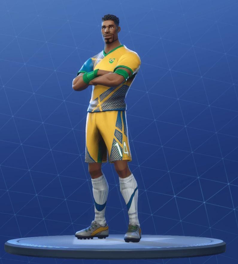 Yellow Soccer Skin Fortnite Png Fortnite Super Striker Outfits Fortnite Skins In 2020 Skin Outfits Fortnite