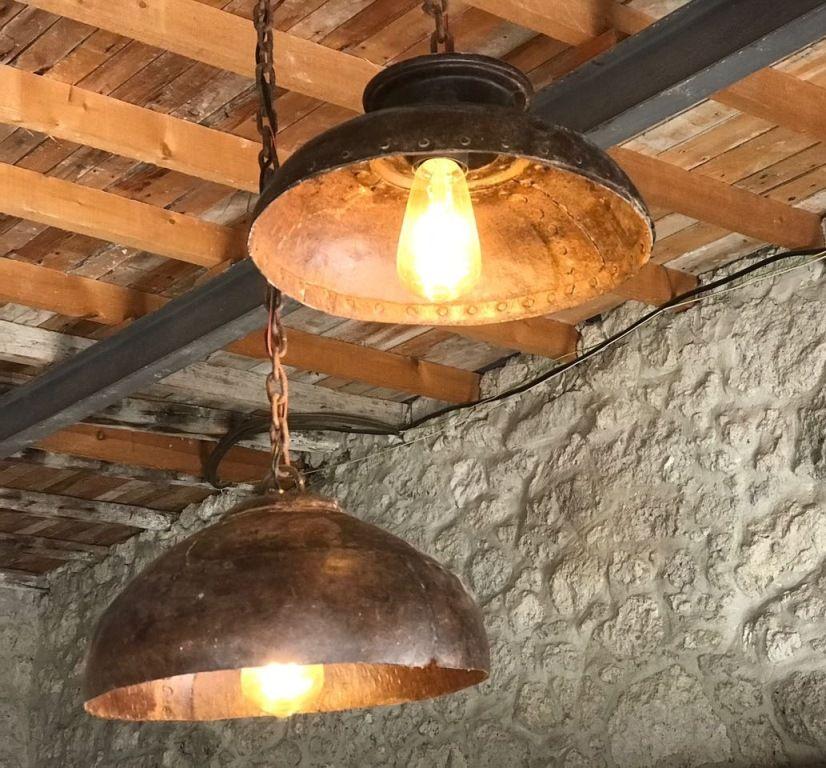 Rustic Modern Industrial Pendant Lighting Light Fixture Industrial