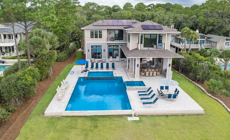 8 5 Million Oceanfront New Build In Hilton Head Island South Carolina Mansion Designs Hilton Head Island Mega Mansions