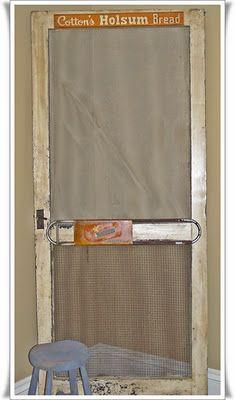 Dont Slam The Screen Door Screen Door Store Door Old Doors