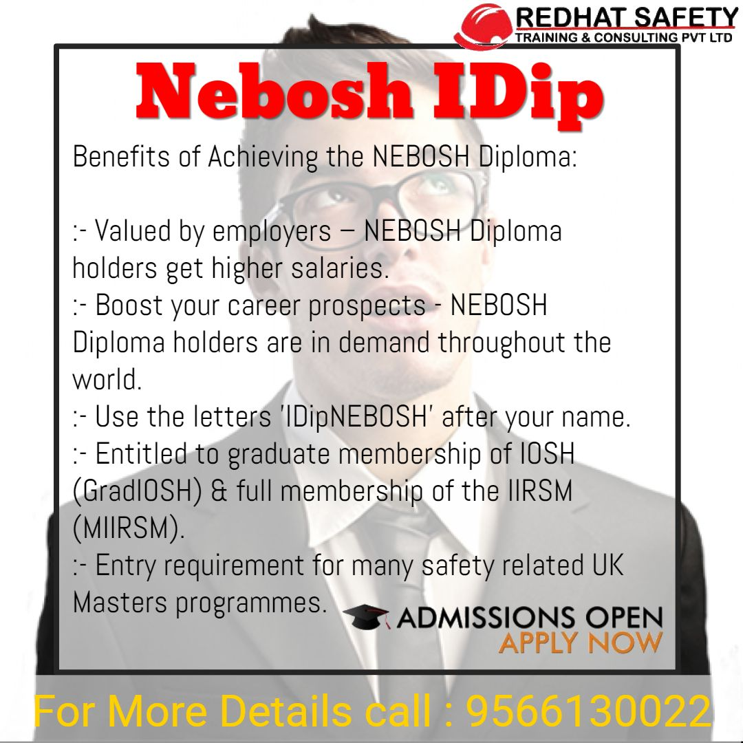 Nebosh level 6 Diploma course in chennai Safety course