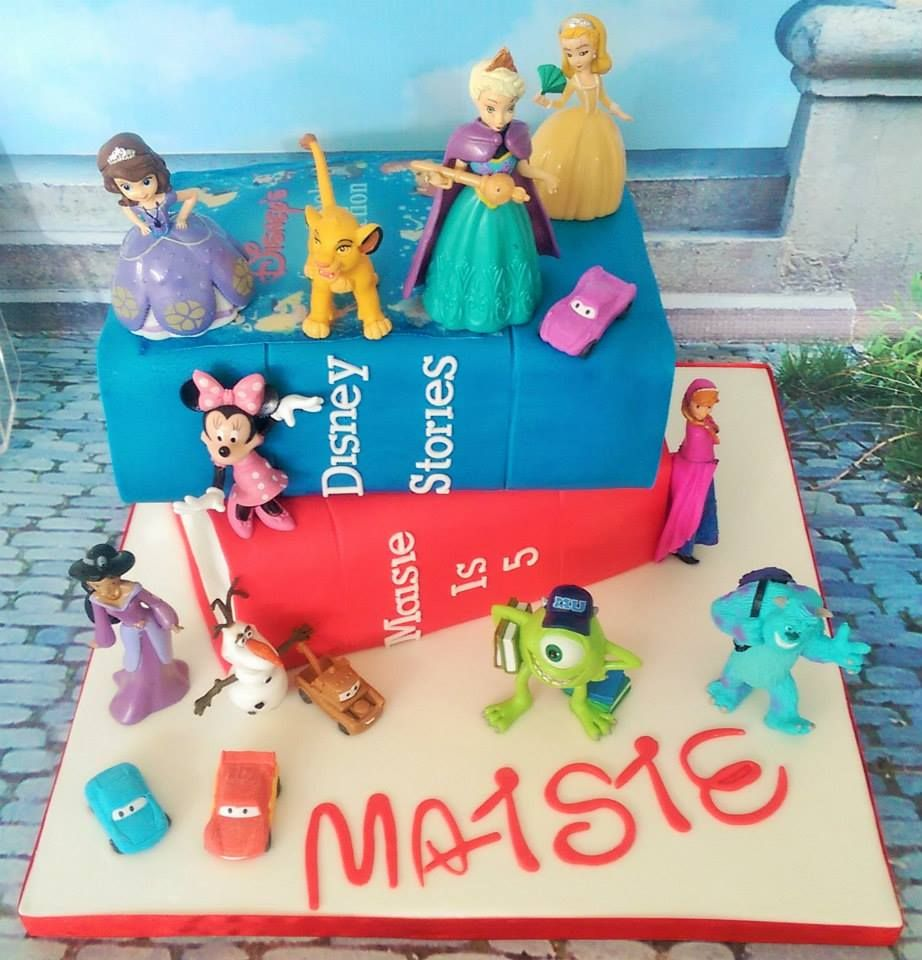 Disney books cakes Cakes by Hayleys Bespoke Bakery Pinterest
