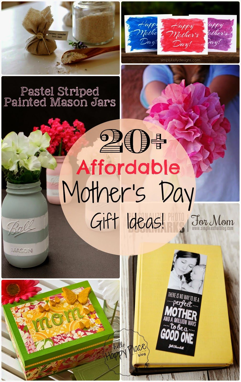 Easy and affordable diy mothers day gift ideas mother