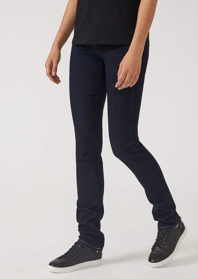 5712b2a02b3 Emporio Armani J21 Super Skinny Jeans In Stretch Denim