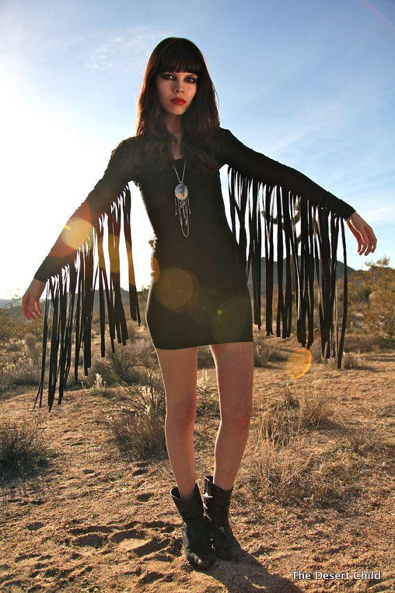 The Dark Hippie Mini Dress by The Desert Child