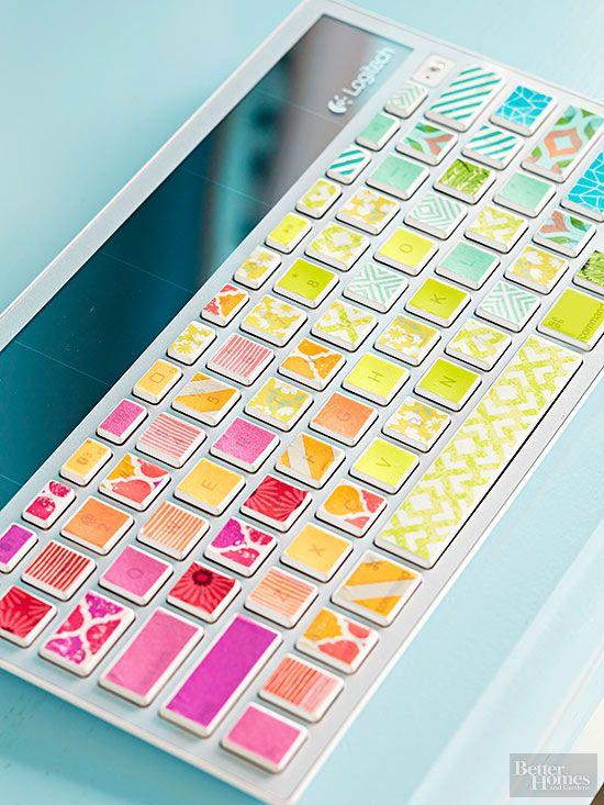 Easy crafts using washi tape washi tape washi and rainbows for How do you use washi tape