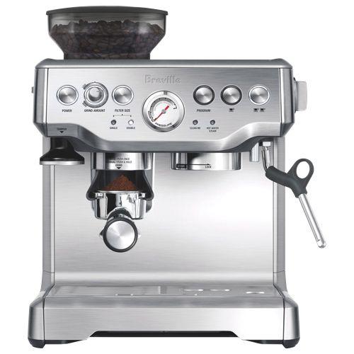 Breville Barista Express Espresso Machine Bes870xl Stainless Steel Best Espresso Machine Espresso Machine Coffee Machine
