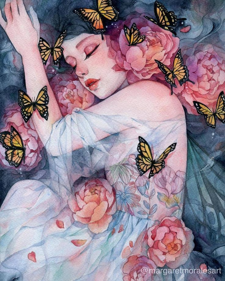"""backwrdblackbrd: """" Sleeps With Butterflies By Margaret Morales """"  - Margaret Morales -"""