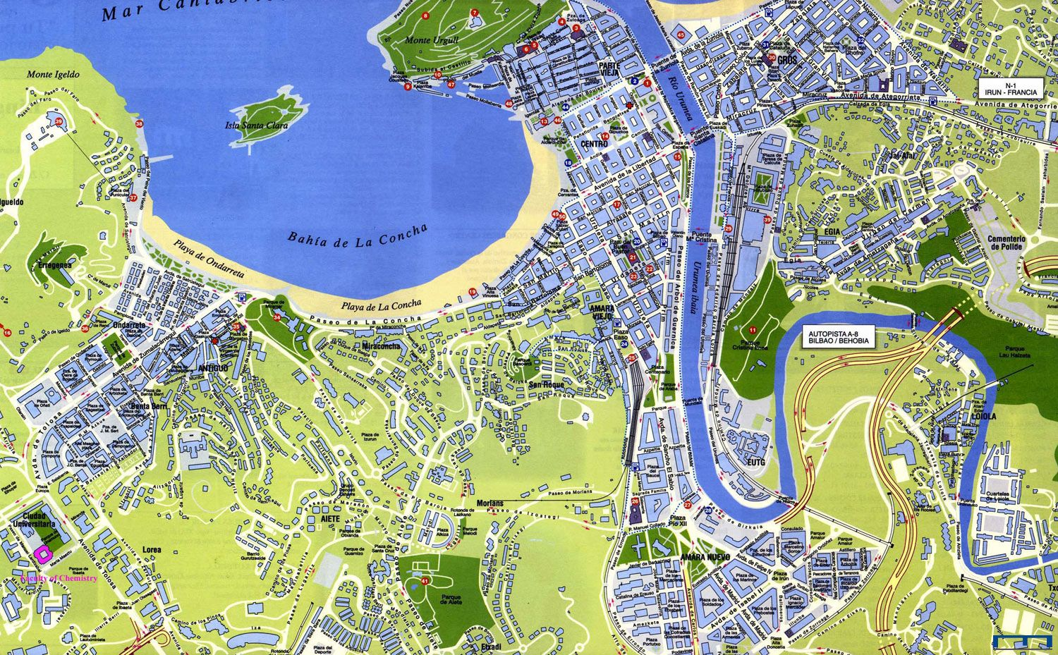 San sebastian tourism in the heart of the tourist area of the city and with convenient opening - San sebastian tourist office ...