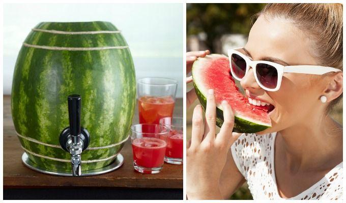 Visste du at det finnes flere spennende ting du kan gjøre med vannmelon?