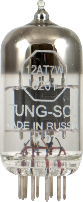 Tung Sol 12AT7W 6201 Dual Triode Preamp Tube Made In Russia Amplifiedparts