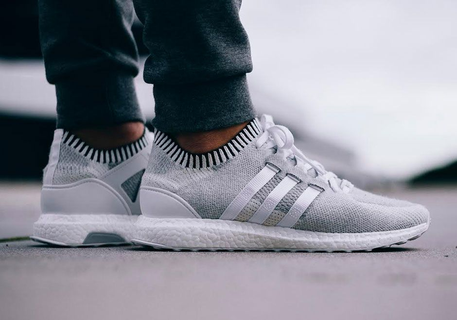 adidas EQT Support Ultra Primeknit Vintage White BB1242 | SneakerNews.com