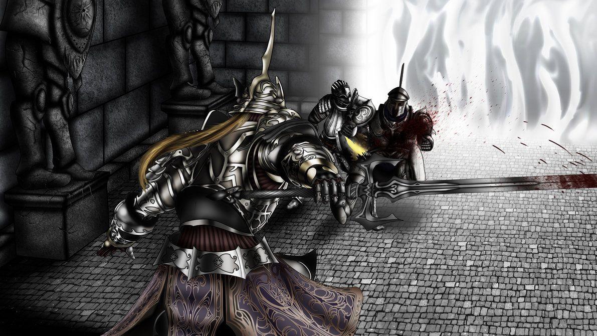 Demon's Souls Lore  Los Caballeros del Daemon (Lore de Metas
