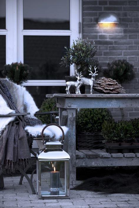 24 Gemütliche Und Schöne Winter Terrasse Deko Ideen | Mobelkunst.com