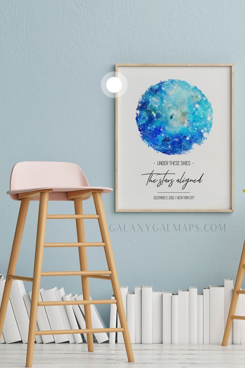 CUSTOM Star Map by Date and Place inspirational print Gift For Dad Poster Extra Large Map Ins CUSTOM Star Map by Date and Place inspirational print Gift For Dad Poster Ex...
