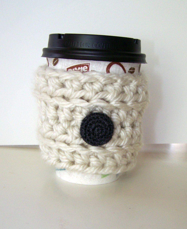 Crochet Mug Cozy Cup Cozy Coffee Cozy Tea Cozy Coffee Cup Sleeve ...