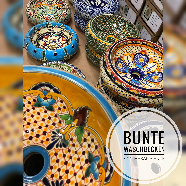 Stilvolle Waschbecken Aus Mexiko In Höchster Qualität #waschtisch  #badinspiration