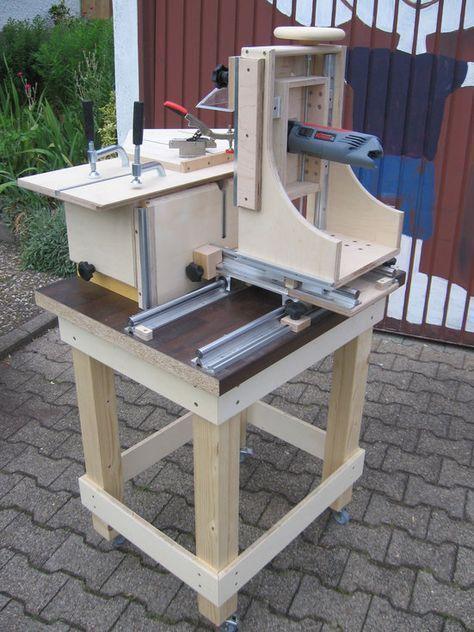horizontalfr stisch fr se router in 2019 woodworking woodworking tools und woodworking bench. Black Bedroom Furniture Sets. Home Design Ideas