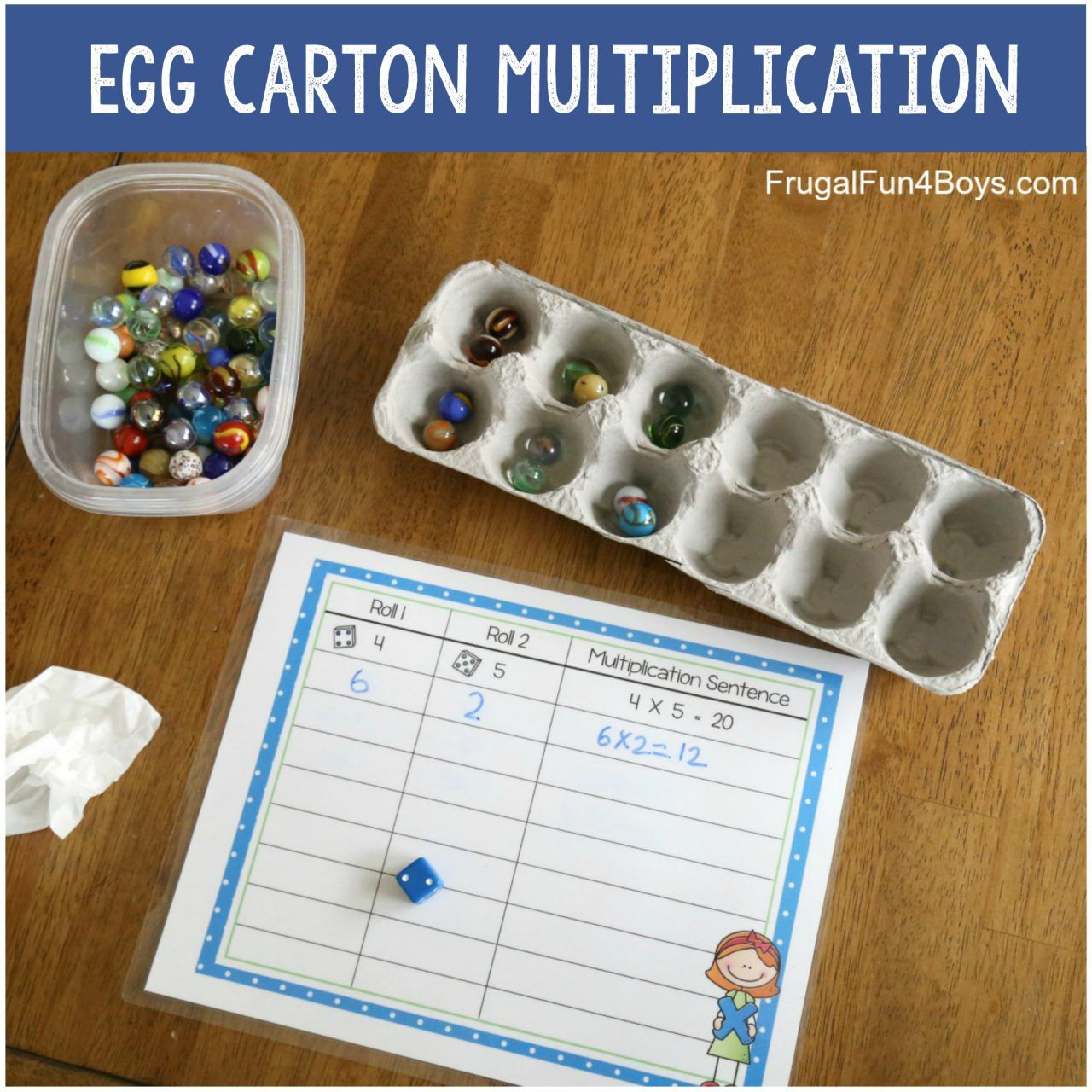 Multiplication Games With Dice