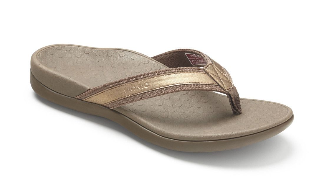 Price: $64.95 - Vionic Tide II Leather Orthotic Sandals Orthaheel. The  Vionic Womens Tide