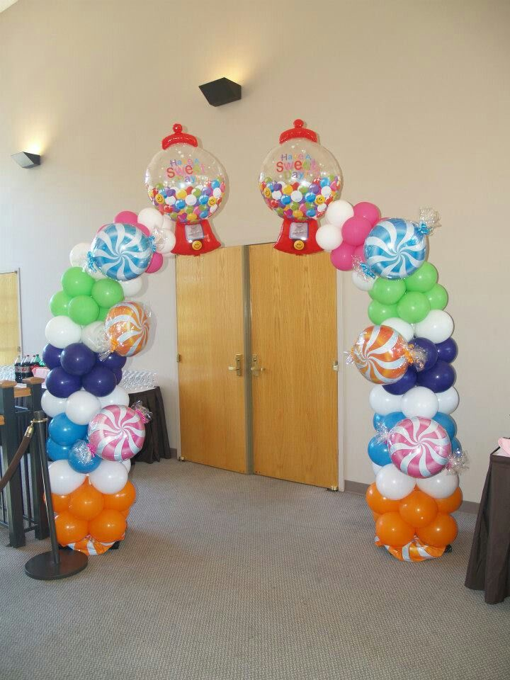Candy Balloon Arch