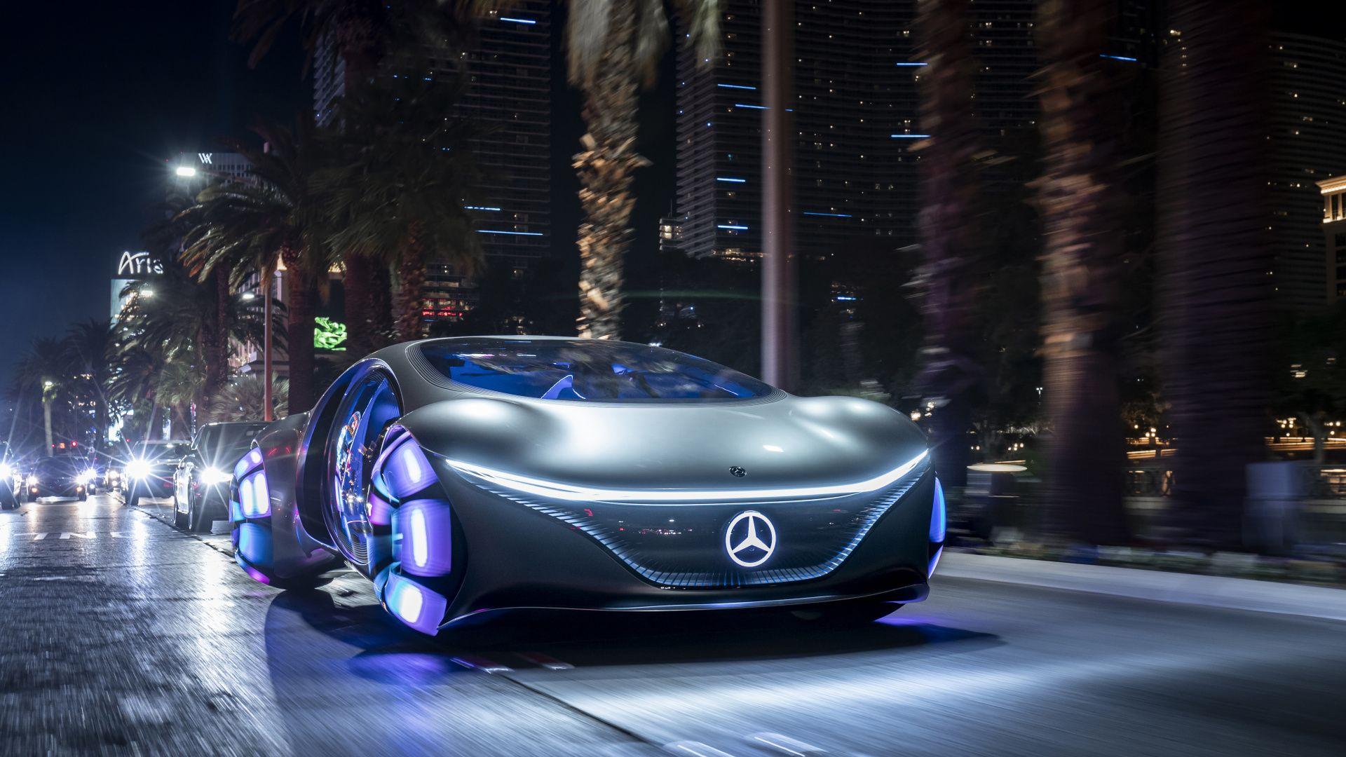 1920x1080 Concept Car Mercedes Benz Vision Avtr 2020 Wallpaper In 2020 Concept Cars Mercedes Benz Car