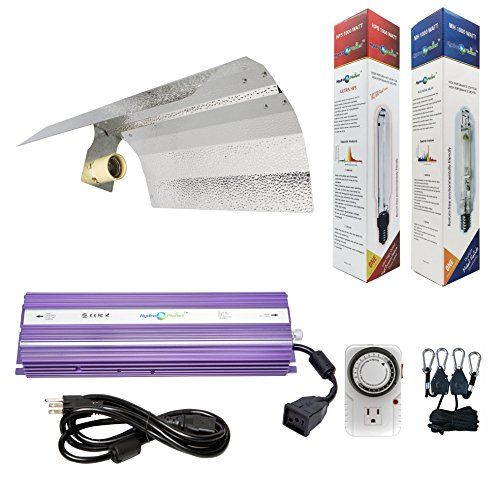 Hydroplanet Horticulture 1000w Hydroponic 1000w Watt Grow Light Digital Dimmable Ballast Hps Mh System Kit For Plants Grow Lights Hydroponics Hydroponics Kits