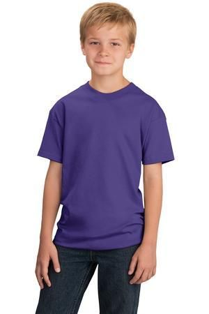 Blank youth t-shirts from Transfer Express Apparel are perfect for apparel decorators. Port & Company PC54Y
