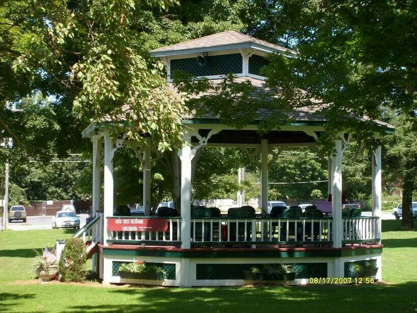 The Bandstand In Park Hoosick Falls Ny