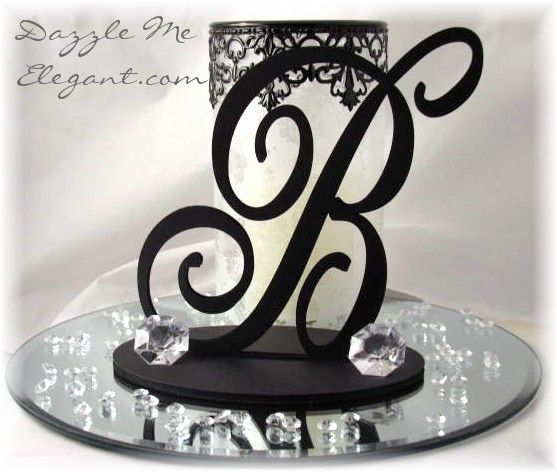 Centerpiece Idea For Long Tables Possibly Use An M Or The Number