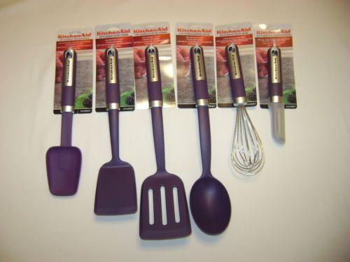 Kitchen Aid Purple Set Tools