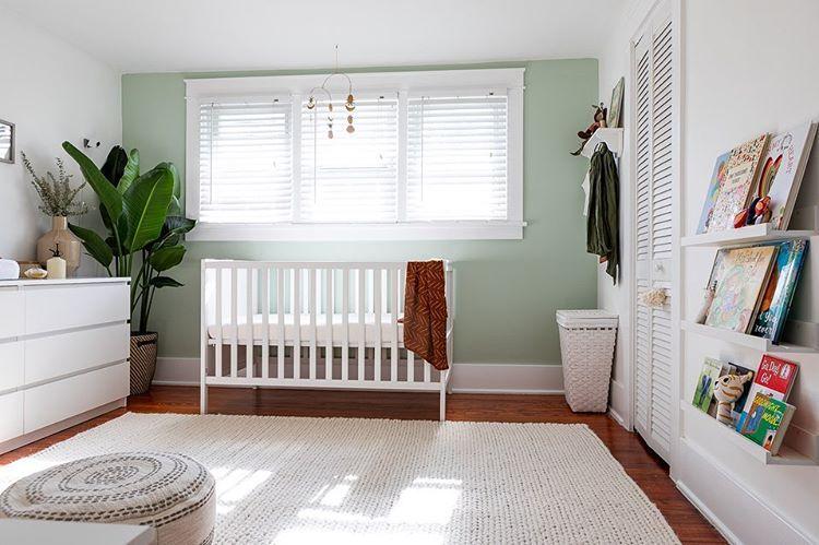 Nursery White Nursery Gender Neutral Nursery Simple Nursery