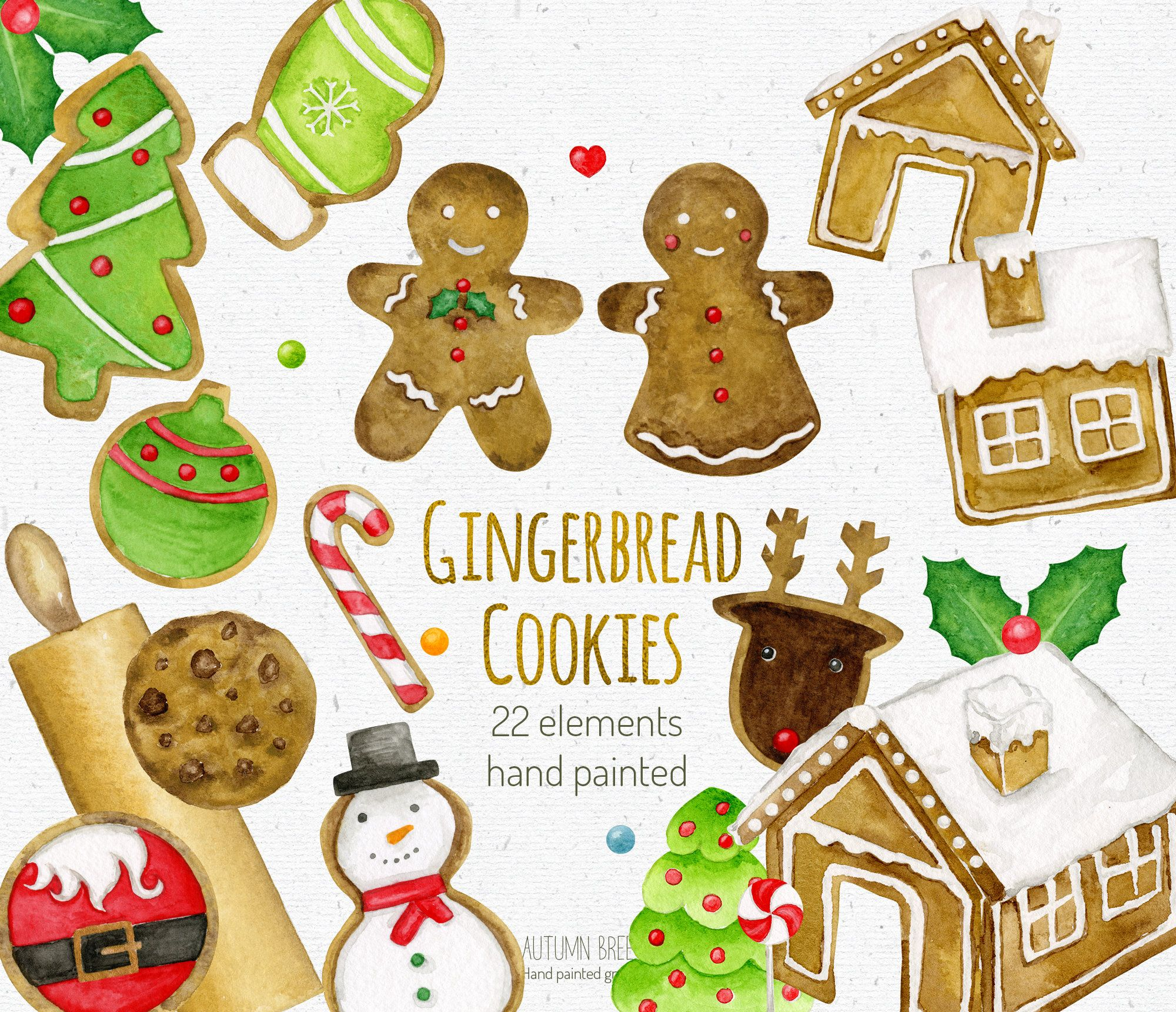 24+ Christmas cookies clipart images ideas in 2021