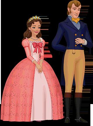 King Roland With His Wife Miranda Sofia The First Characters Sofia The First Princess Sofia Party