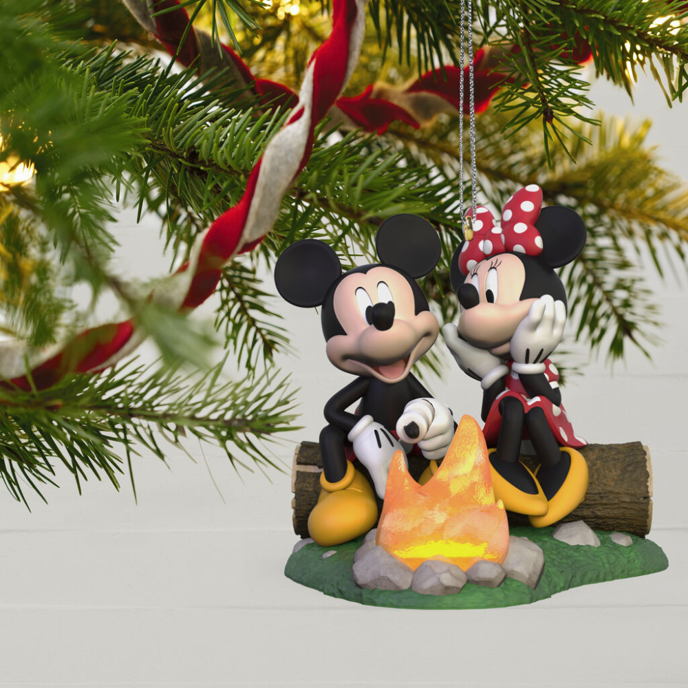 Disney Mickey and Minnie Fireside Friends Ornament
