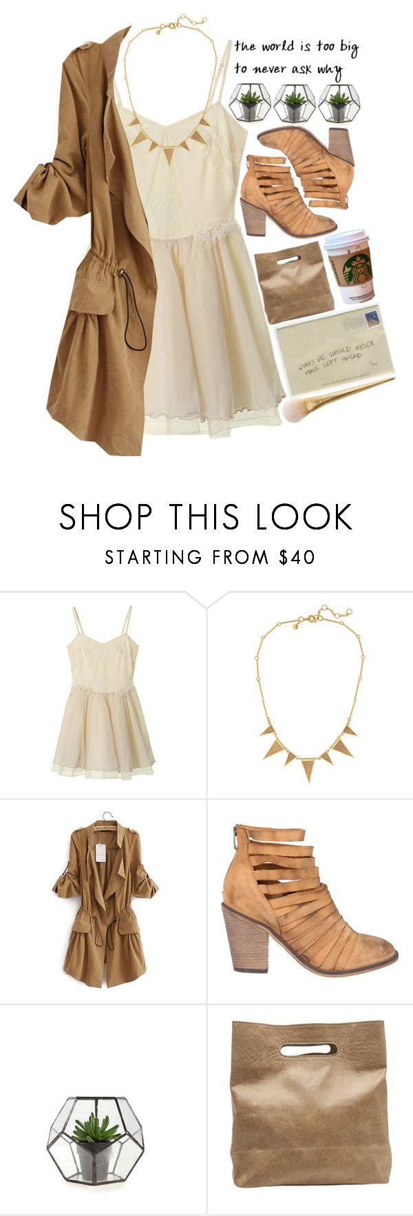 """Even when all is said and done there's still so much possibility."" by paper-faces-on-parade ❤ liked on Polyvore featuring J.Crew, Free People and Marie Turnor"