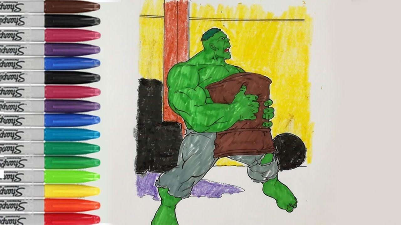 Incredible hulk coloring book pages - Hulk Coloring Book Pages The Incredible Hulk Sailany Coloring Kids
