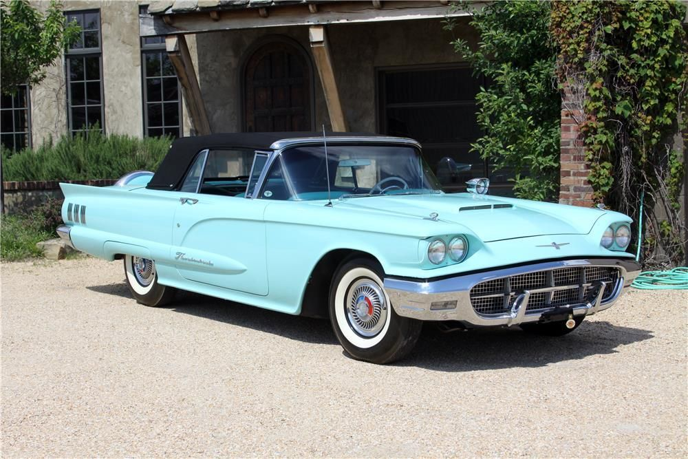 1960 FORD THUNDERBIRD CONVERTIBLE – Barrett-Jackson Auction Company – World's Greatest Collector Car Auctions