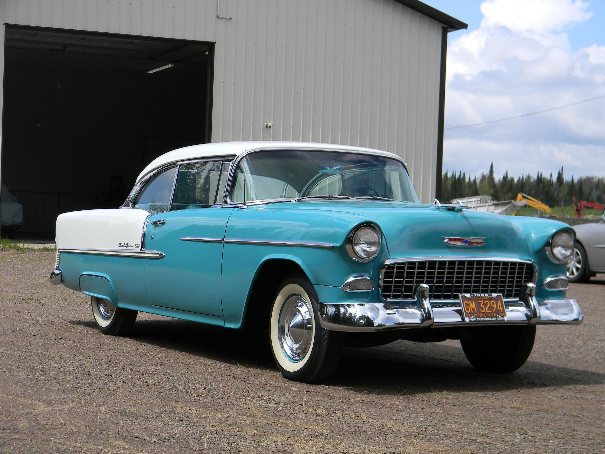 Is the 57 Chevrolet Bel Air better than the 55 and 56