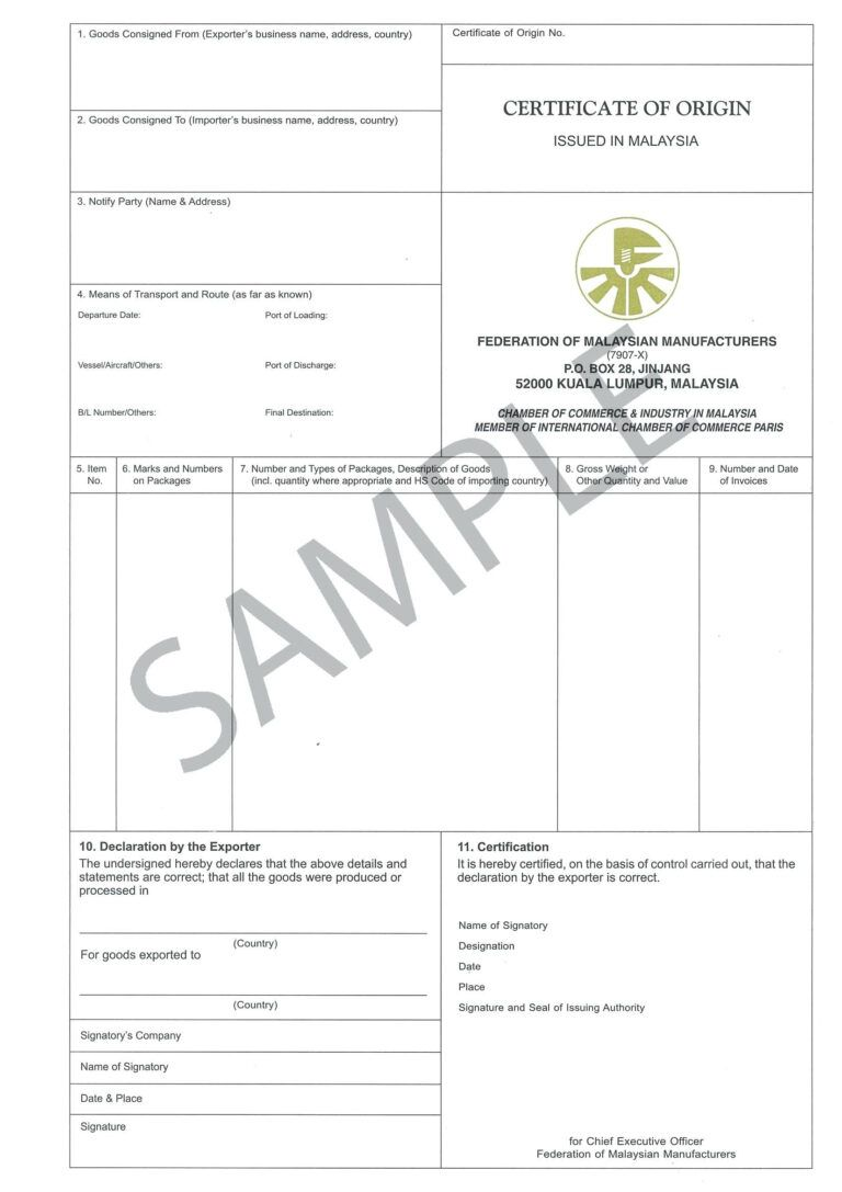 Certificate Origin Template Usa Nafta Of Form Us Word Throughout Certificate Templates Certificate Of Recognition Template Certificate Of Achievement Template Us certificate of origin template